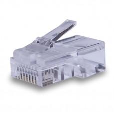 Разъем для компьютерных сетей джек RJ-45 8P-8C CAT5e оригинал