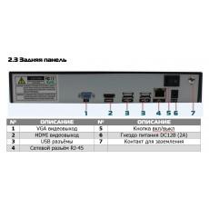 4-канальный IP-видеорегистратор c поддержкой камер c разрешением до 4K (8M) PVDR-IP8-04M1 v.5.9.1 оригинал