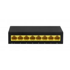 8-портовый гигабитный сетевой коммутатор, 8 портов 10/100/1000Мбит/с PND-08G оригинал
