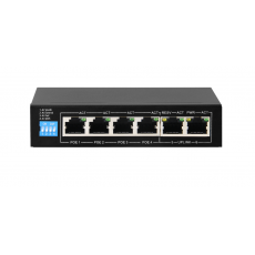 6-портовый интеллектуальный PoE-коммутатор, 4 PoE порта (PoE IEEE 802.3af/at) PND-04P-2M оригинал