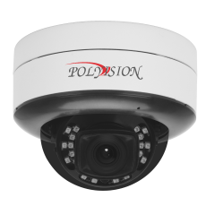 Купольная 2Мп IP-камера с вариофокальным объективом и внутренним подключением PDL-IP2-V13MPA v.5.8.9 оригинал
