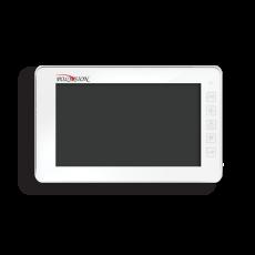 Многофункциональный сенсорный 10-дюймовый монитор видеодомофона PVD-10L v.7.1 white оригинал