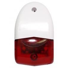 Оповещатель охранно-пожарный свето-звуковой Феникс-С (ПКИ-СП12) (красный) оригинал